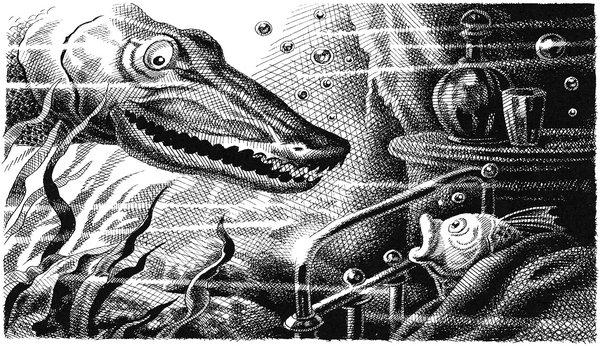 Премудрый пескарь. Сказка Салтыкова-Щедрина. Сказки Онлайн